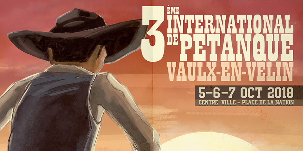 3ème INTERNATIONAL DE PETANQUE DE VAULX-EN-VELIN - 5,6,7 octobre